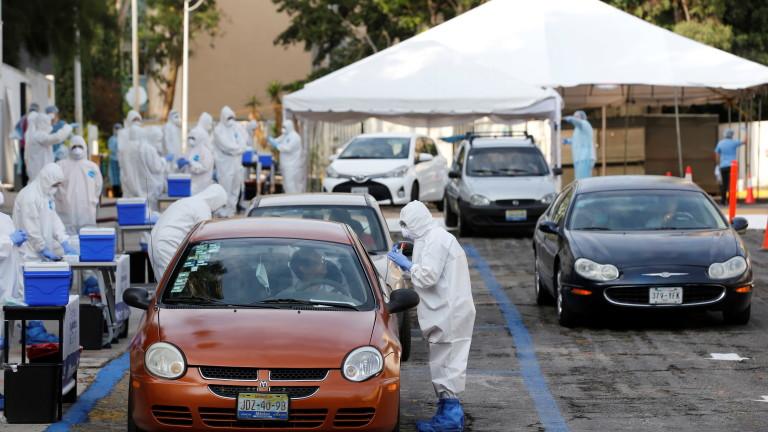 Черен рекорд в Мексико по брой смъртни случаи от коронавирус