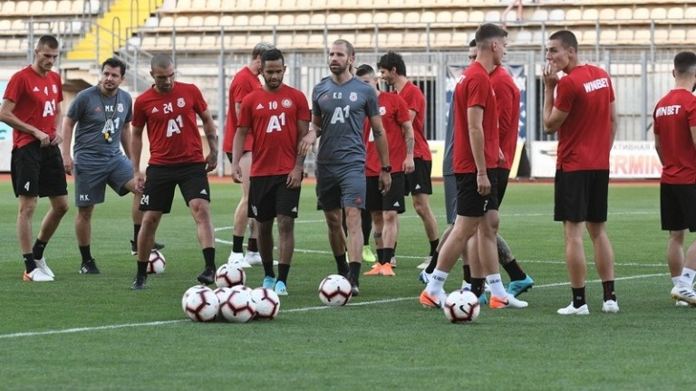 ЦСКА ще играе контрола с Пирин в паузата
