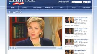 Предизборен щаб на Клинтън изгоря