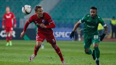 Лудогорец - ФК Копенхаген 1:2 (Развой на срещата по минути)