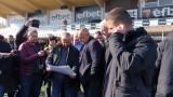 Борисов провери къде ще отиват парите за спорта в Пловдив и Асеновград