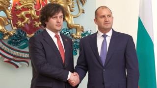 Радев иска енергийна, транспортна и дигитална свързаност с Грузия