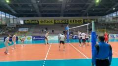 Националният отбор на България по волейбол започна 2020 година с победа