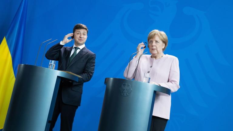 Президентът на Украйна Володимир Зеленски обяви готовността на Германия да
