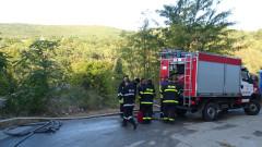 Ново огнище на пожара край село Реброво