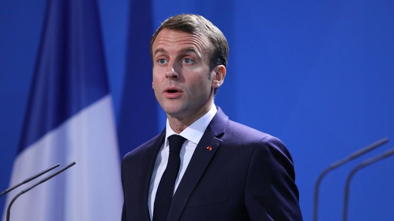 Макрон покани французите на национален дебат