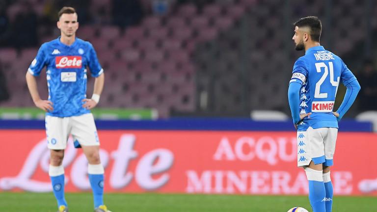 Звездата на Наполи Лоренцо Инсинье може да напусне тима през