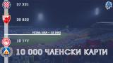 Левски задмина Олимпиакос и Динамо (Загреб) по продажба на членски карти