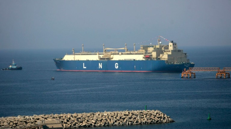 САЩ обявиха началото на доставките на втечнен газ за Украйна