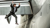 Една от най-опасните каскади, които Том Круз е правил