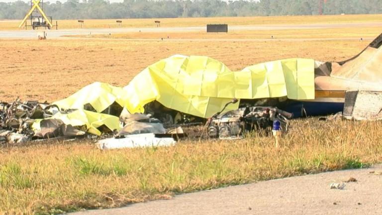 Самолет падна в оризище край Пазарджик