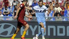 """Рома - Лацио 3:1, """"вълците"""" повеждат с два гола"""
