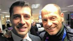 Легенди на калчото и европейски шампион с български мартеници