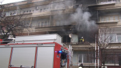 Жилищна кооперация горя в Казанлък