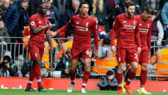Ливърпул отново диша във врата на Манчестър Сити, Фирмино и Садио Мане над всички