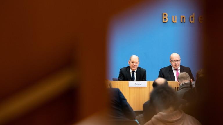 Германия осигурява неограничени заеми на компаниите в борбата с коронавируса