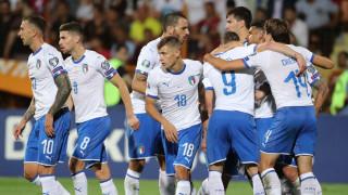 Пет от пет за Италия в група J
