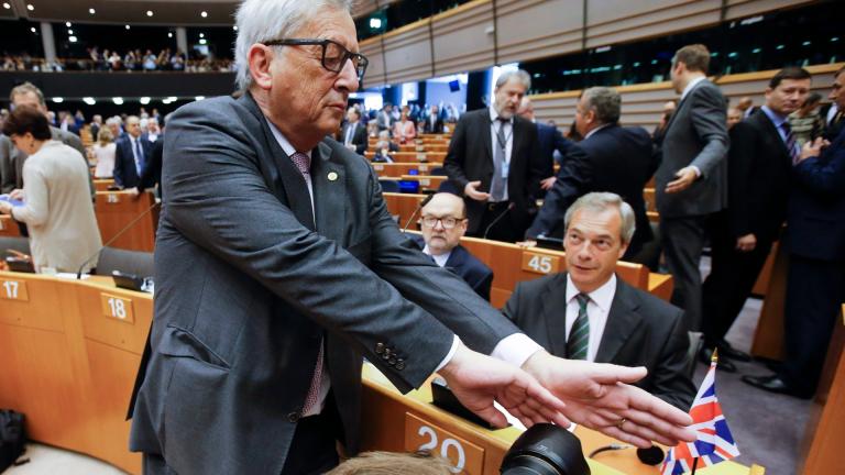Евродепутатите настояха Великобритания да се маха незабавно от ЕС