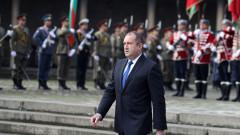 Президентът Радев се радва на около 60% одобрение от българите