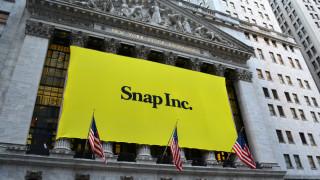 Snap отчете 3 милиона по-малко потребители и 44% ръст на печалбата