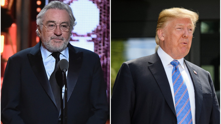 Доналд Тръмп отвръща на Робърт де Ниро