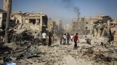 Близо 40 000 души са убити в Сирия през 2017 г.