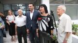 Калоян Паргов зове за победа на изборите от Братската могила