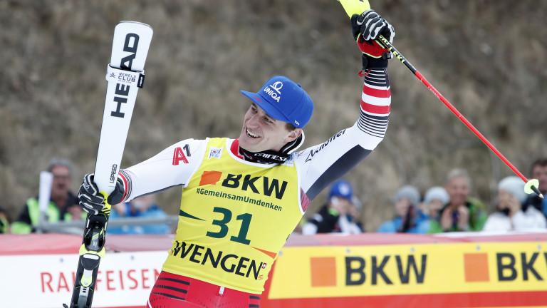 Матиас Майер от Австрия спечели втората за сезона алпийска комбинация