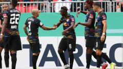 Лайпциг тръгна с разгромна победа за Купата на Германия