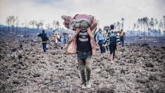 Вулканът в ДР Конго разсели 416 000 жители