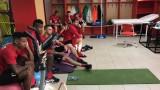 Футболистите на ЦСКА са готови за подвизи