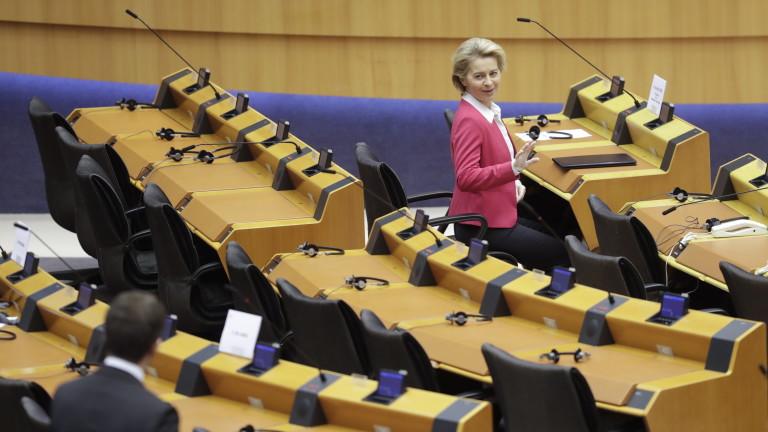 Европа се бори за живота си, предупреди Урсула фон дер Лайен