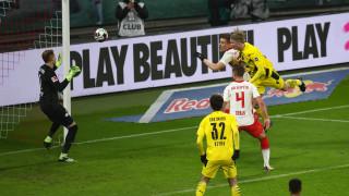 Борусия (Дортмунд) надигра РБ Лайпциг след рецитал на Санчо и Халанд