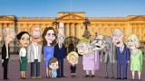Кралският двор в анимационен сериал