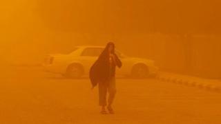 Близкият изток се подготвя за гигантска пясъчна буря