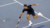 Роджър Федерер победи Кей Нишикори на 1/4-финал в Шанхай