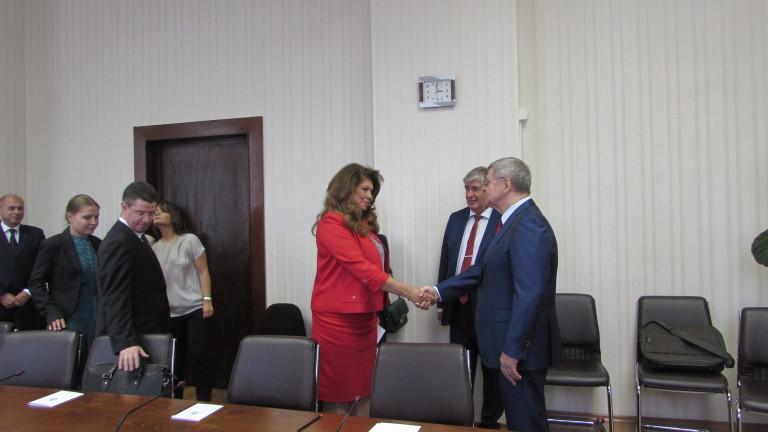 Главният прокурор на Русия Чайка се срещна и с вицепрезидента Йотова