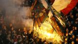 Бой на стадиона в Стара Загора!