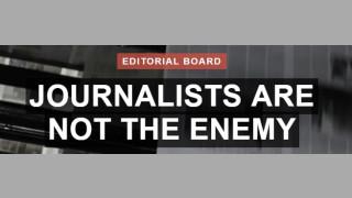 """""""Мръсната война"""" на Тръмп обедини 350 медии"""