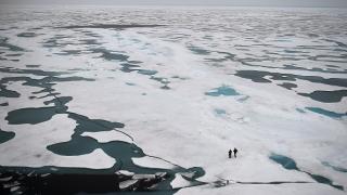 Северният полюс драстично се топи