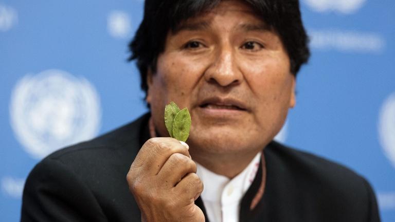 Президентът на Боливия Ево Моралес изрази съжалението си във вторник