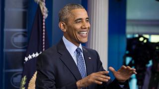 Искат Барак Обама за президент на Франция