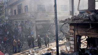 """Русия обявява """"зона за деескалация"""" на север от град Хомс в Сирия"""