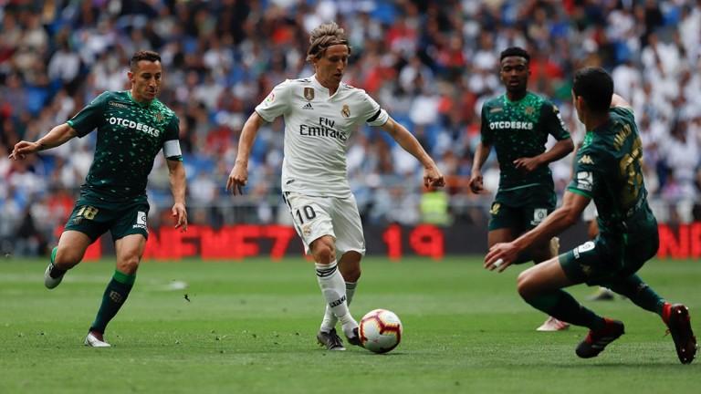 Реал (Мадрид) завърши със загуба сезона в Ла Лига.