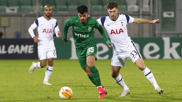 Българските клубове при гостувания в Лондон: Без победа, голова разлика 0:13