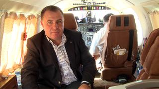 Найденов се качи на самолет, за да снима земеделските площи
