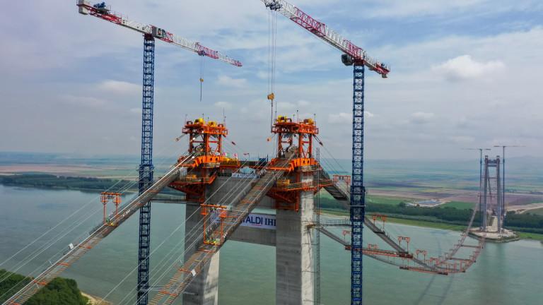Най-скъпият мост на Румъния и третият най-дълъг в Европа ще бъде готов през 2022-а