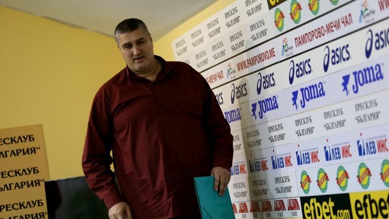 Любо Ганев без конкуренция за поста президент на БФ Волейбол