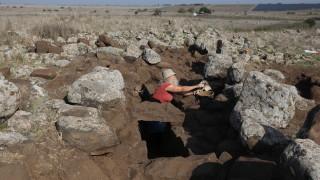 Израел откри укрепление от ерата на цар Давид на Голан