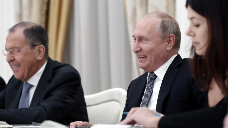 Президентът на Русия Владимир Путин демонстрира и своето специфично чувство